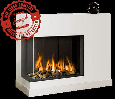 Gas Fireplaces Corner