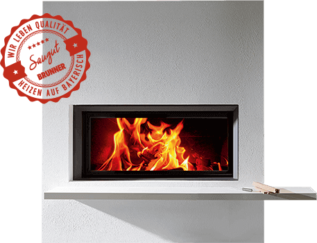Fireplaces, stoves, fireplace inserts by Brunner