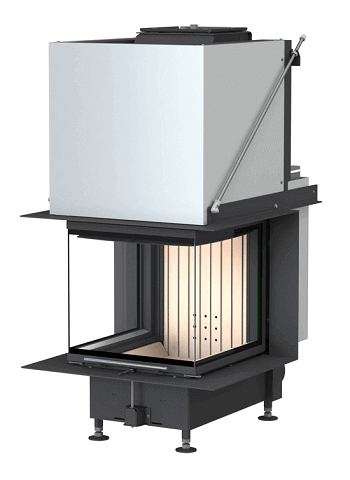 Brunner Kamin panorama fireplace panorama fireplaces with a view of the from
