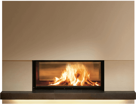 Kamin Tunnel fireplaces stoves fireplace inserts by brunner